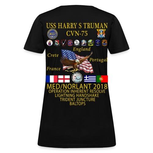 USS HARRY S TRUMAN 2018 WOMENS CRUISE SHIRT - Women's T-Shirt