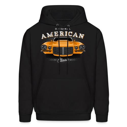 Camaro SS Orange Hoodie - Men's Hoodie