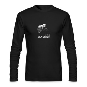 BLACKISH man - Men's Long Sleeve T-Shirt by Next Level