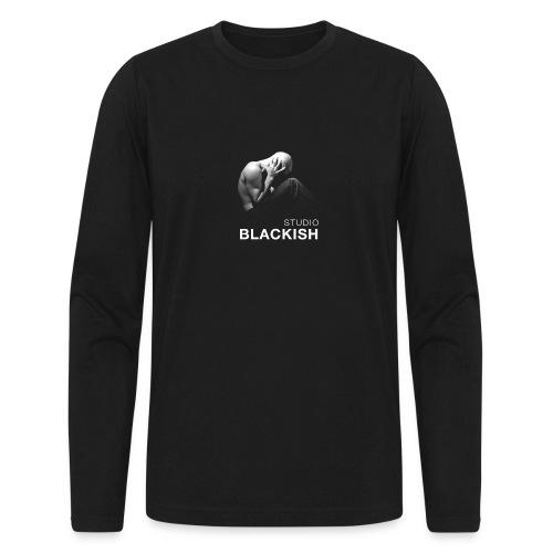 BLACKISH man - Men's Long Sleeve T-Shirt by Next Level