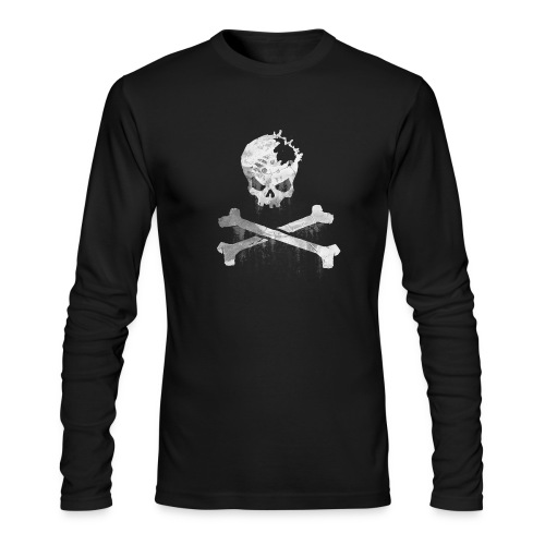 Skull px long - Men's Long Sleeve T-Shirt by Next Level