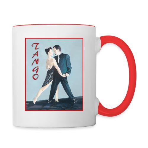 Tango Green - Contrast Coffee Mug
