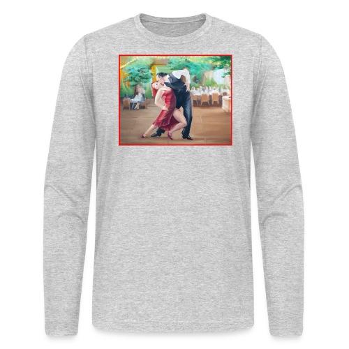 Tango Fountain - Men's Long Sleeve T-Shirt by Next Level