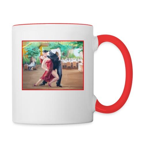 Tango Fountain - Contrast Coffee Mug