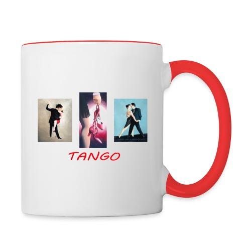 tango triptychs - Contrast Coffee Mug