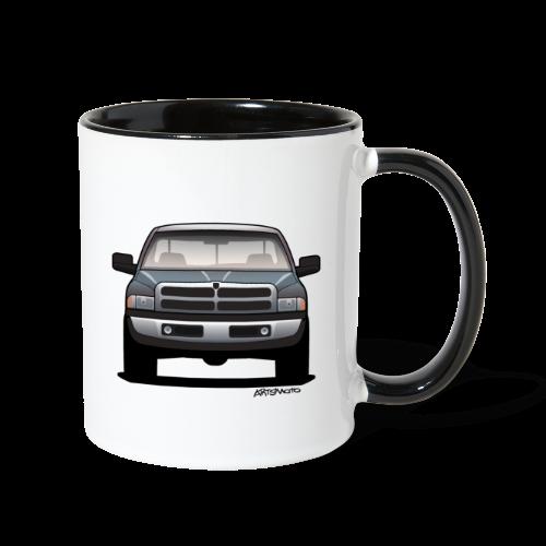 American Horn Pickup Truck - Contrast Coffee Mug