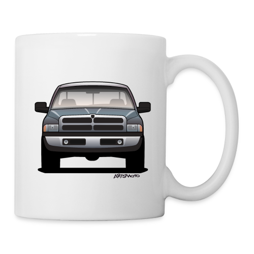 American Horn Pickup Truck - Coffee/Tea Mug