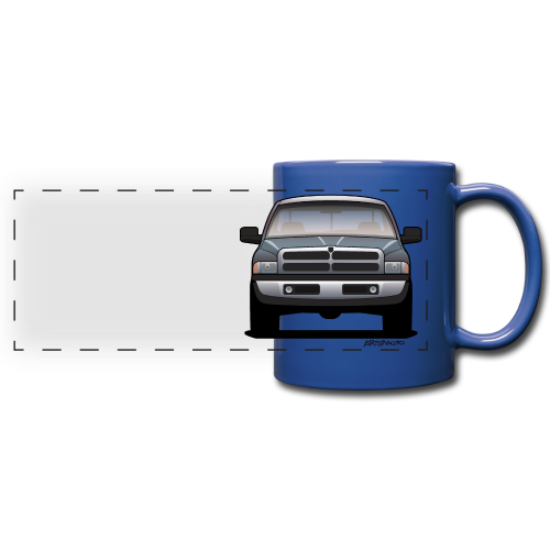 American Horn Pickup Truck - Full Color Panoramic Mug