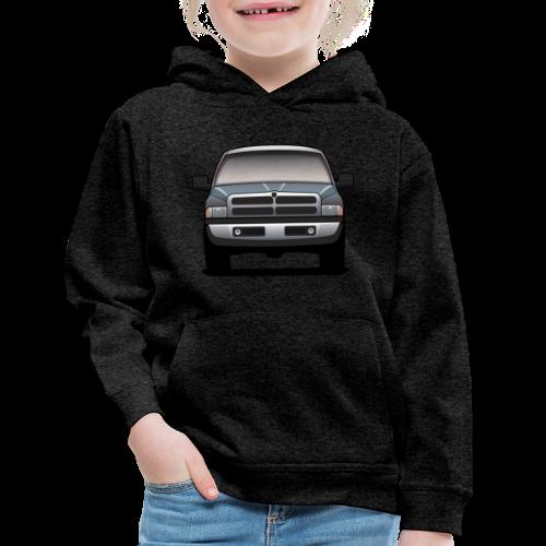 American Horn Pickup Truck - Kids' Premium Hoodie