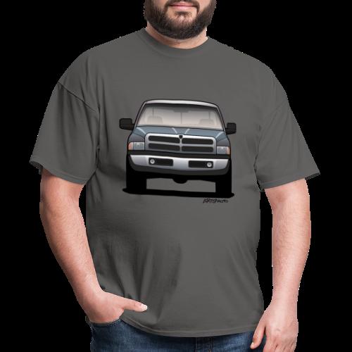 American Horn Pickup Truck - Men's T-Shirt