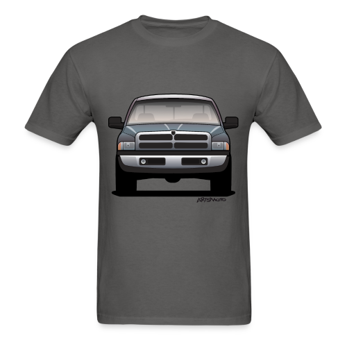 American Horn Pickup Truck - Men's T-Shirt