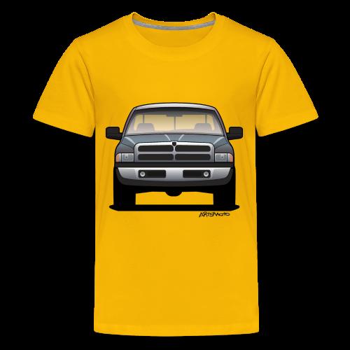 American Horn Pickup Truck - Kids' Premium T-Shirt