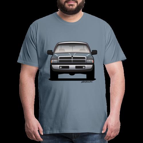 American Horn Pickup Truck - Men's Premium T-Shirt