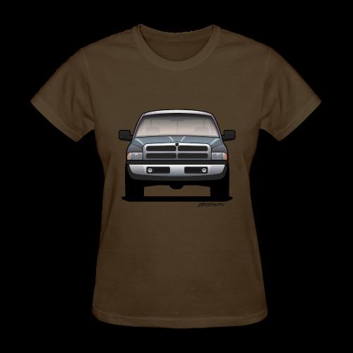 American Horn Pickup Truck - Women's T-Shirt