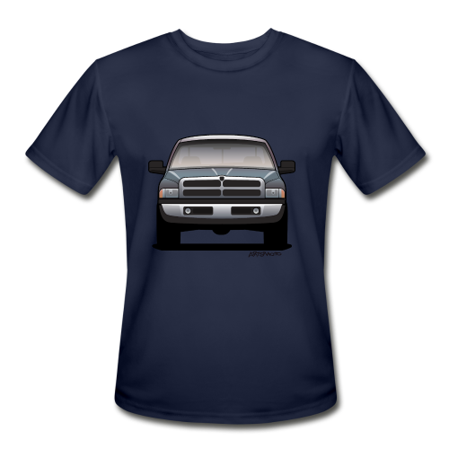American Horn Pickup Truck - Men's Moisture Wicking Performance T-Shirt