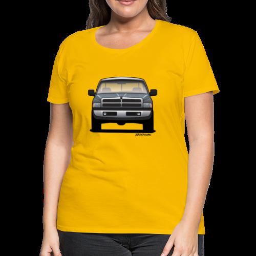 American Horn Pickup Truck - Women's Premium T-Shirt