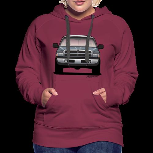American Horn Pickup Truck - Women's Premium Hoodie