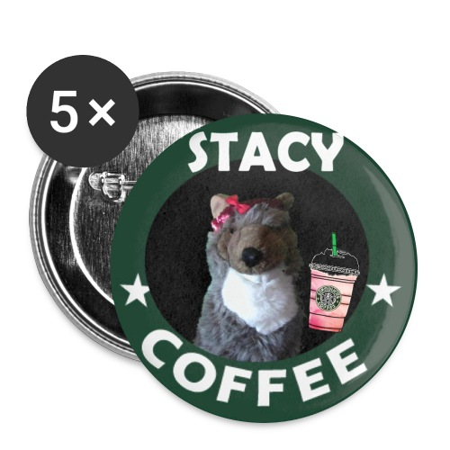 Stacy Coffee Button - Large Buttons