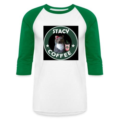 Women's Stacy Coffee shirt - Baseball T-Shirt