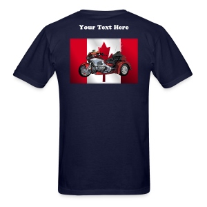 Men's T Back CanFlagWingtrike - Men's T-Shirt