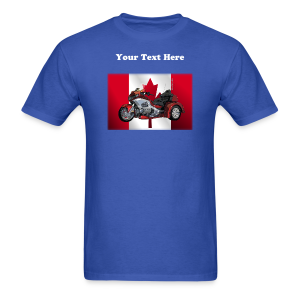 Men's T Front CanFlagWingtrike - Men's T-Shirt