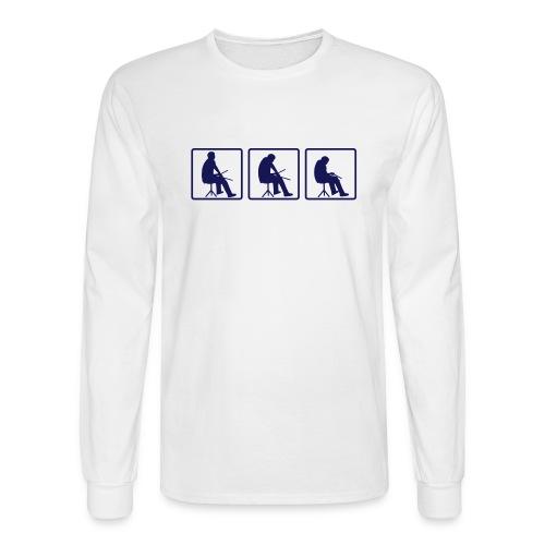 drummer - Men's Long Sleeve T-Shirt