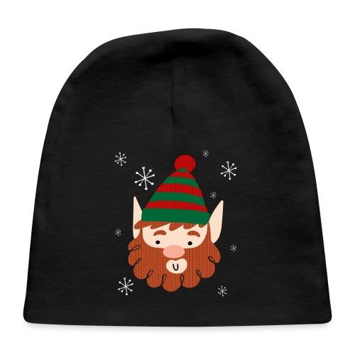 Cool Santas Elf Baby Christmas Cap - Baby Cap