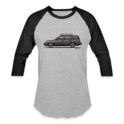 Retronics Garage's AE95 Corolla 4WD Wagon - Baseball T-Shirt