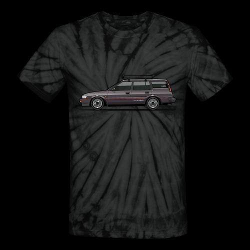 Retronics Garage's AE95 Corolla 4WD Wagon - Unisex Tie Dye T-Shirt