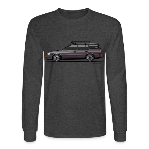 Retronics Garage's AE95 Corolla 4WD Wagon - Men's Long Sleeve T-Shirt