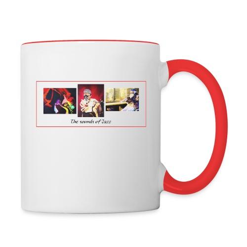 sounds of jazz - Contrast Coffee Mug