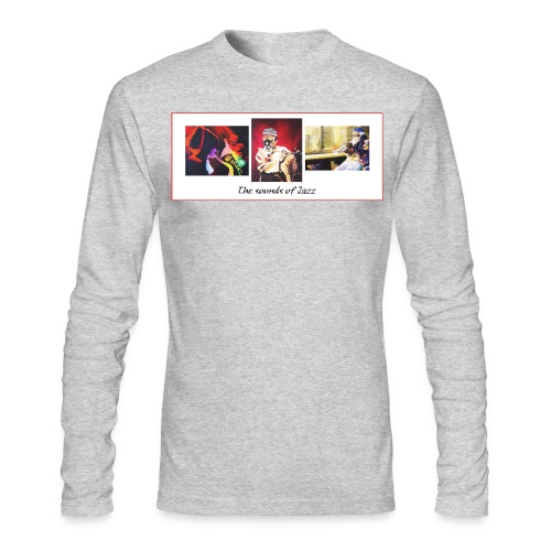 sounds of jazz - Men's Long Sleeve T-Shirt by Next Level