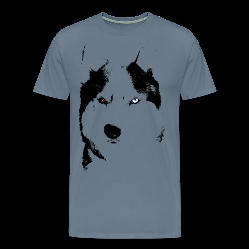 Siberian Husky Shirts Plus Size Malamute / Husky T-shirts - Men's Premium T-Shirt