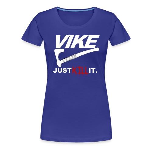 Womens Vike Tshirt Blue - Women's Premium T-Shirt