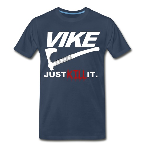 Vike T-Shirt Premium Blue - Men's Premium T-Shirt
