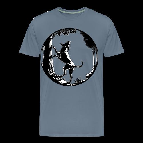 Hunting Dog T-Shirts Men's Plus Size Hound Dog Shirts - Men's Premium T-Shirt