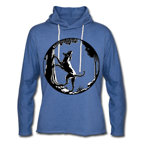 Hunting Dog Hoodie Shirts Women's Hound Dog Shirts - Unisex Lightweight Terry Hoodie