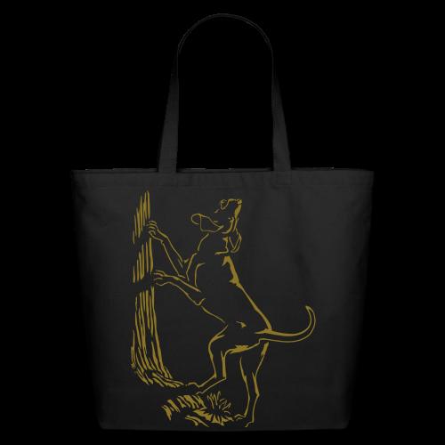 Hound Dog Tote Bag Hunting Dog Shopping Bag - Eco-Friendly Cotton Tote