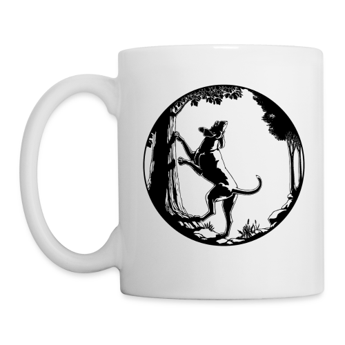 Hunting Dog Cups Hound Dog Art Coffee Mugs - Coffee/Tea Mug