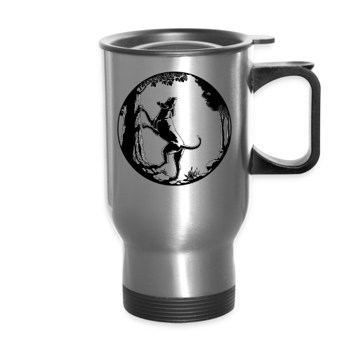 Hunting Dog Cups Hound Dog Art Coffee Mugs - Travel Mug