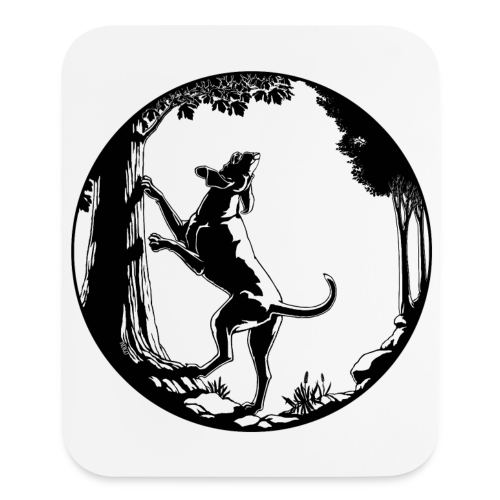 Hunting Dog Mousepads Hound Dog Art Computer Gifts - Mouse pad Vertical