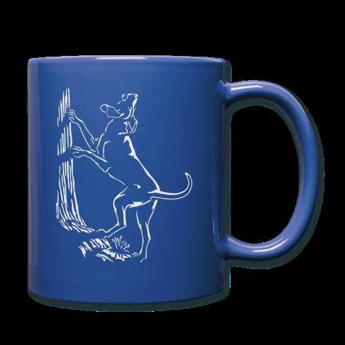 Hunting Dog Cups Hound Dog Art Coffee Mugs - Full Color Mug