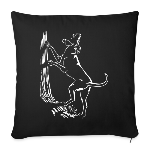 Hunting Dog Pillows Hound Dog Art Throw Pillows - Throw Pillow Cover