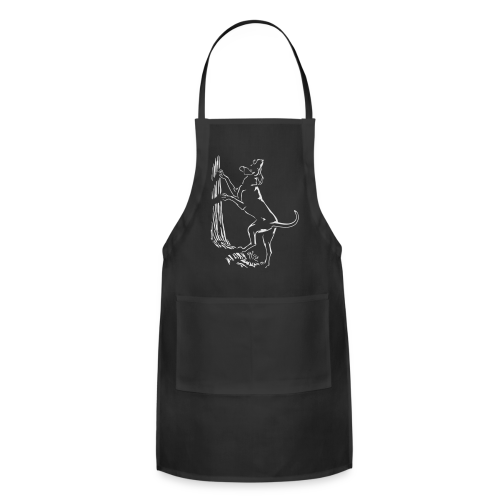Hunting Dog Aprons Hound Dog Art Barbecue Aprons - Adjustable Apron