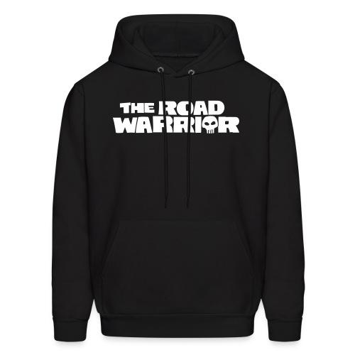 Mad Max Roadwarrior Text | Black White | Men's Hoodie - Men's Hoodie