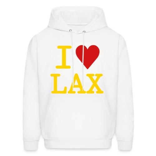 lacrosse hoodie by chedda - Men's Hoodie