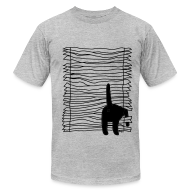 T-Shirts ~ Men's T-Shirt by American Apparel ~ Broken Blinds