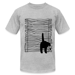 Broken Blinds - Men's T-Shirt by American Apparel