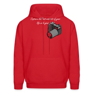 Capture the best moments of your life with your heart - Men's Hoodie