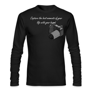 Capture the best moments of your life with your heart - Men's Long Sleeve T-Shirt by Next Level